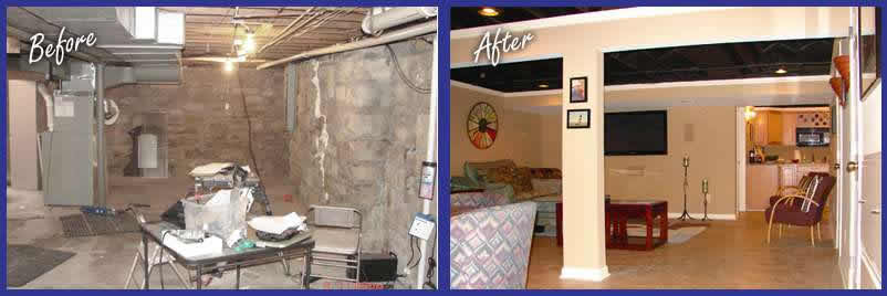 basement remodel kansas city. Before And After Remodeling With Basement Magic Remodel Kansas City M